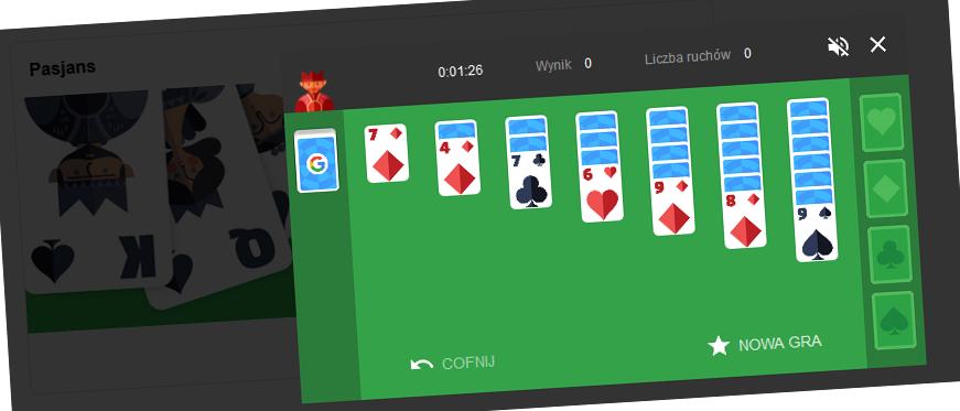 Pasjans – graj w grę która zapewni wiele godzin radości
